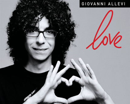 """Copertina dell'album di Giovanni Allevi """"Love"""""""