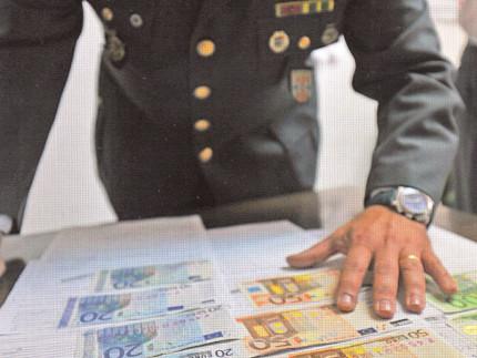 Sequestro di denaro da parte della Guardia di Finanza