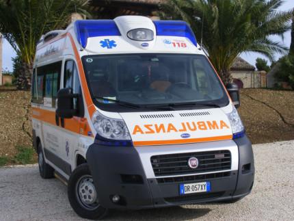Ambulanza della Croce Azzurra
