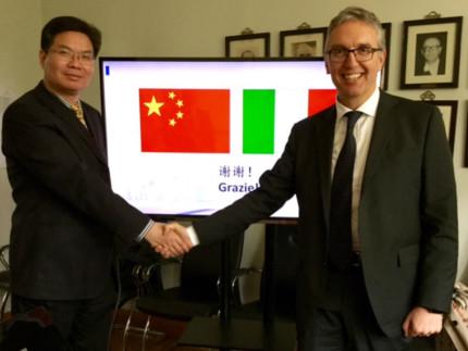Ceriscioli in Cina