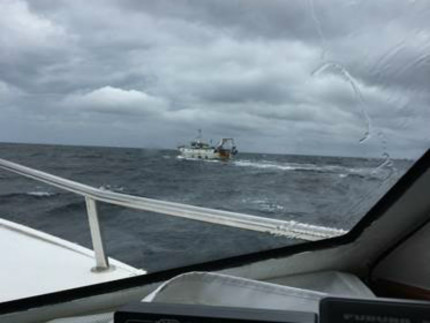 Peschereccio in difficoltà al largo di San Benedetto del Tronto