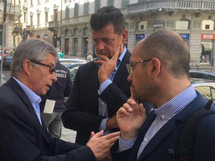 Il presidente Mangialardi incontra Curcio ed Errani