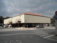 L'ex Palazzo del turismo a Senigallia