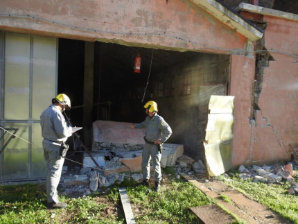 Terremoto: verifiche e sopralluoghi presso le aziende agricole e zootecniche del maceratese da parte del Corpo Forestale dello Stato: un allevamento inagibile a Ussita