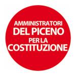 """Il logo del gruppo """"Amministratori del Piceno per la Costituzione"""""""