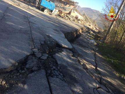 Arquata del Tronto: la frazione Pescara del Tronto dopo il terremoto di domenica 30 ottobre 2016