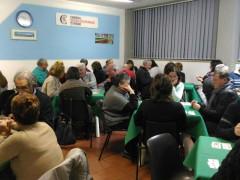 La tappa del torneo provinciale a squadre di burraco dell'U.S. Acli di Ascoli Piceno svolta il 29 dicembre 2016 al centro socioculturale Tofare