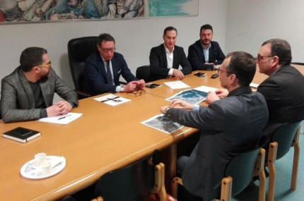 L'incontro tra i vertici dell'Autorità portuale di sistema con sindaco e assessore di San Benedetto del Tronto