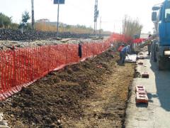 I lavori di riqualificazione del tyratto ferroviario di via Sacconi