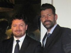 Roberto De Angelis e Maurizio Mangialardi