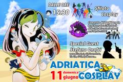 La locandina dell'evento Adriatica Cosplay a Cupra Marittima