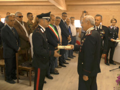 Carimonia per i Carabinieri Forestali a Castelsantangelo sul Nera
