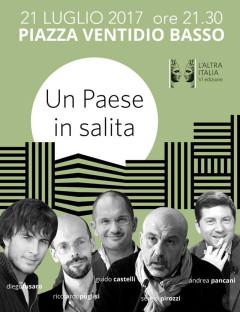 """Locandina dell'iniziativa """"L'Altra Italia"""" 2017 ad Ascoli Piceno"""