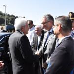 Visita del Presidente Mattarella ad alcune zone colpite dal terremoto del 2016