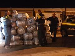 Sequestro record di droga da parte della Guardia di Finanza di San Benedetto del Tronto