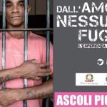 La locandina della mostra ad Ascoli Piceno