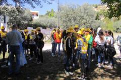 """Gli studenti dell'IC Leopardi di Grottammare hanno aderito all'iniziativa di Legambiente """"Puliamo il mondo"""""""