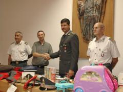 """L'operazione denominata """"Mamme di Facebook"""" conclusa dalla Guardia di Finanza di Ascoli Piceno con la donazione alla caritas dei beni sequestrati"""