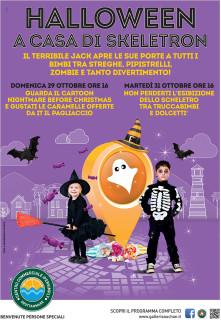 Halloween al Centro Commerciale Grottammare - locandina