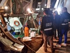 I controlli ad Ancona da parte della Guardia Costiera sull'attività di pesca e sui prodotti ittici