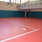 Rifacimento pavimentazione della palestra del Liceo Scientifico di Ascoli