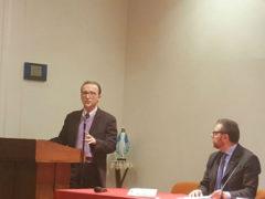 Sauro Rossi (CISL Marche) al convegno promosso da UCID Marche