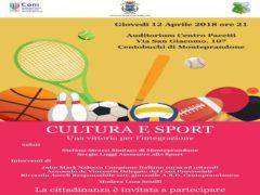 Convegno su cultura e sport in programma a Monteprandone