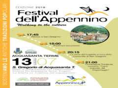 Tappa del Festival dell'Appennino ad Acquasanta Terme