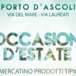 """Mercatino """"Occasioni d'estate"""" a Porto d'Ascoli"""