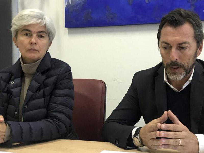 Moira Canigola e Stefano Pompozzi