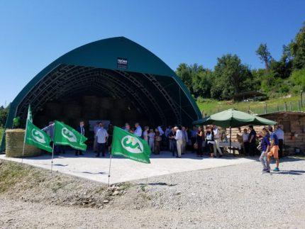 Inaugurazione fienile a Roccafluvione
