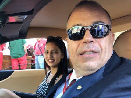 Inaugurazione del Ferrari Club a Castorano