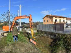 Pulizia dei fossi a Monteprandone