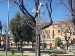 Nuove telecamere installate in piazza Diaz ad Ascoli
