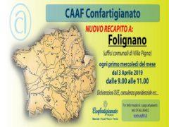 Apertura del nuovo Caaf di Confartigianato a Folignano