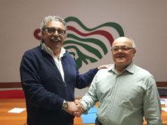 Claudio Omiccioli e Antonio Angelini