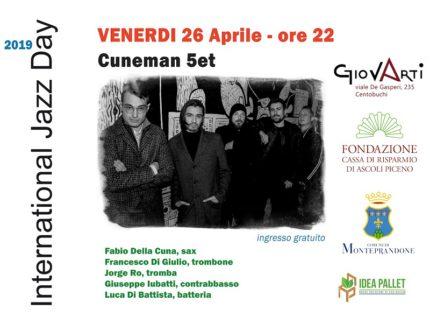 "Concerto jazz dei ""Cuneman 5et"""