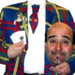 Il comico Alberto Alivernini