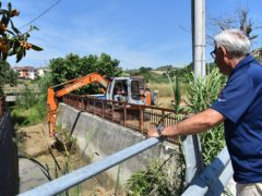 Pulizia del Fosso Centobuchi a Monteprandone