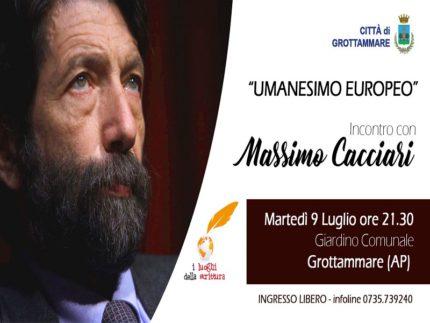 Massimo Cacciari a Grottammare