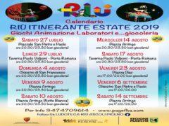 Calendario di Riù Itinerante ad Ascoli