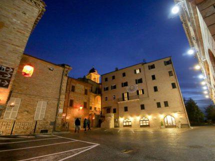 Piazza dell'Aquila a Monteprandone