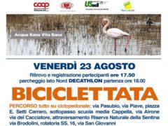 Biciclettata ecologica a Porto d'Ascoli