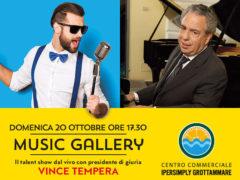 Music Gallery domenica 20 ottobre al Centro Commerciale Ipersimply Grottammare