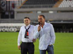 Il sindaco di Ascoli Fioravanti allo stadio del Duca