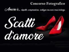 """Locandina del concorso fotografico """"Scatti d'amore"""""""