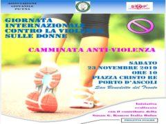 Camminata antiviolenza a San Benedetto