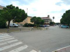 Piazza Giovanni XXIII a Grottammare