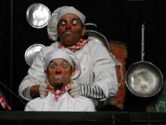Spettacolo teatrale dei Fratelli Caproni