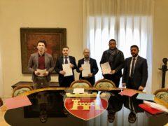 Protocollo d'intesa sottoscritto da Ascoli Piceno, Castel di Lama, Colli del Tronto, Spinetoli, Maltignano, Folignano